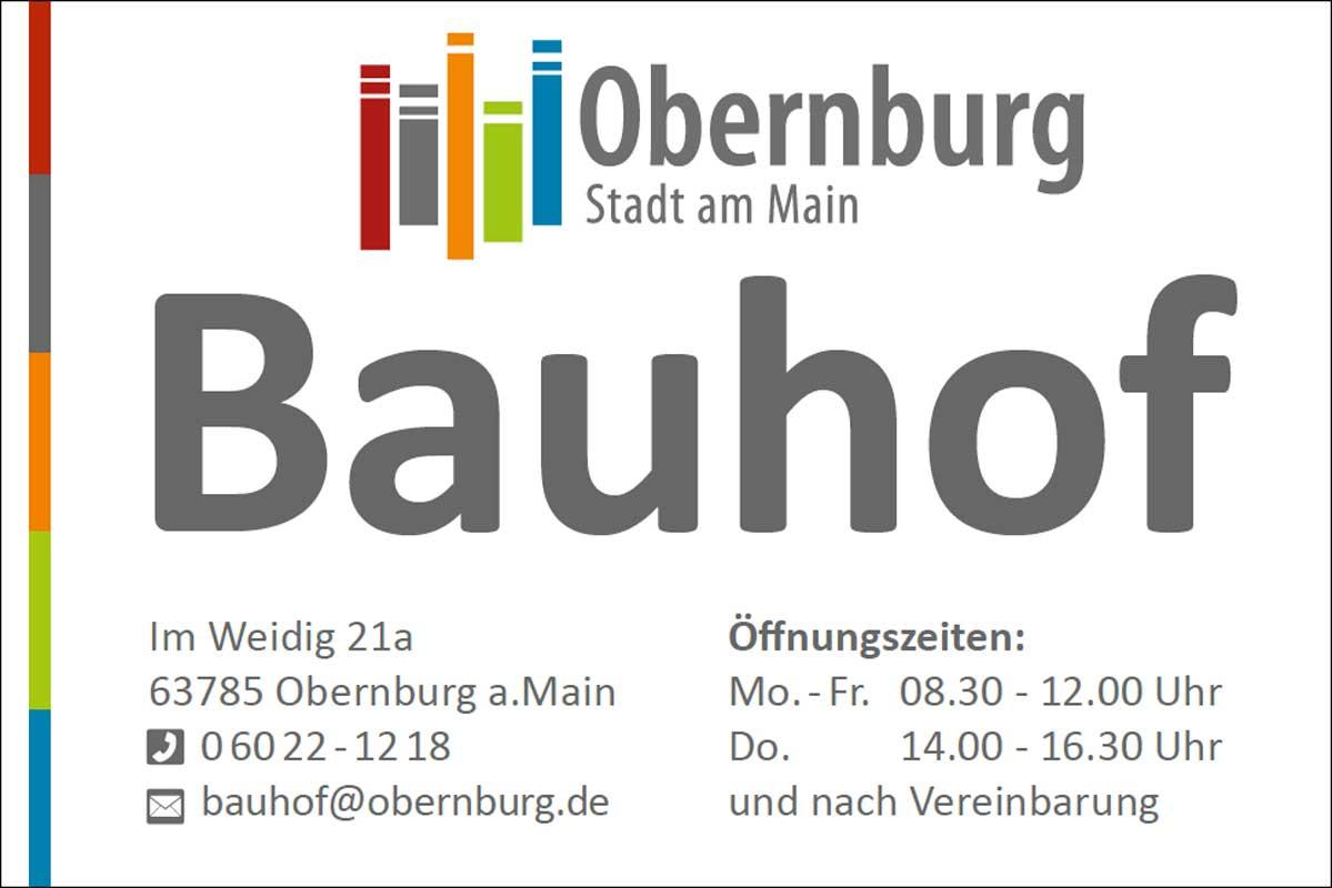 Bauhofschild